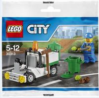 Пластиковый конструктор LEGO City Мусоровоз (30313)