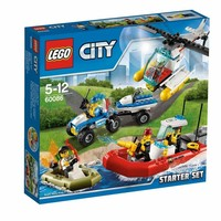 Пластиковый конструктор LEGO City Набор City для начинающих (60086)