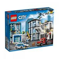 Пластиковый конструктор LEGO City Полицейский участок (60141)