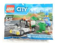 Пластиковый конструктор LEGO CITY Rubbish Truck Мусоровоз (30313)