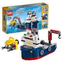 Пластиковый конструктор LEGO Creator Морская экспедиция (31045)