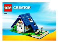 Пластиковый конструктор LEGO Creator Загородный дом (5891)