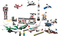 Пластиковый конструктор LEGO Education Space and Airport Set Космос и аэропорт (9335)