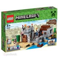 Пластиковый конструктор LEGO Minecraft Блокпост в пустыне (21121)