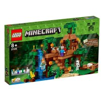 Пластиковый конструктор LEGO Minecraft Домик на дереве в джунглях (21125)