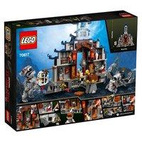 Пластиковый конструктор LEGO Ninjago Храм Последнего великого оружия (70617)