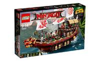 Пластиковый конструктор LEGO Ninjago Летающий корабль Мастера Ву (70618)