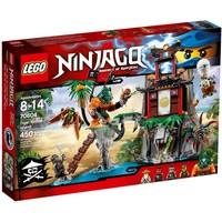 Пластиковый конструктор LEGO Ninjago Остров тигриных вдов (70604)