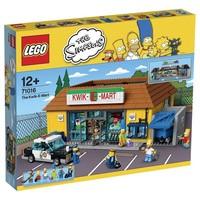 Пластиковый конструктор LEGO Simpsons Магазин На скорую руку (71016)