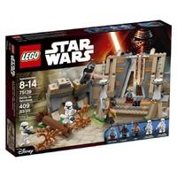 Пластиковый конструктор LEGO Star Wars Битва на планете Такодана (75139)