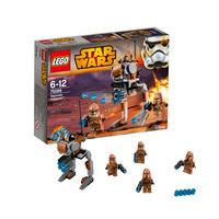 Пластиковый конструктор LEGO Star Wars Пехотинцы планеты Джеонозис (75089)