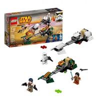 Пластиковый конструктор LEGO Star Wars Скоростной спидер Эзры Бриджера (75090)
