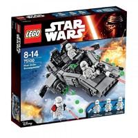 Пластиковый конструктор LEGO Star Wars Снеговой спидер Первого Ордена (75100)