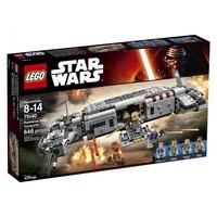Пластиковый конструктор LEGO Star Wars TM Star Wars Военный транспорт Сопротивления™ (75140)