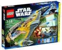 Пластиковый конструктор LEGO Star Wars Звездный истребитель Набу (7877)