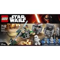 Пластмасовый конструктор LEGO Star Wars Скоростной байк Кенана (75141)