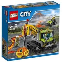 Пластмассовый конструфсктор LEGO City Гусеничный трактор исследователей вулканов (60122)