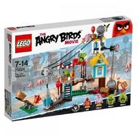 Пластмассовый конструктор LEGO Angry Birds Разгром Свинограда (75824)