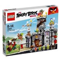 Пластмассовый конструктор LEGO Angry Birds Замок короля свинок (75826)