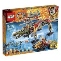 Пластмассовый конструктор LEGO Chima Спасение короля Кроминуса (70227)
