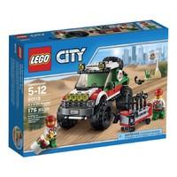 Пластмассовый конструктор LEGO City Great Vehicles Внедорожник 4 x 4 (60115)