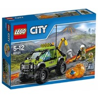 Пластмассовый конструктор LEGO City Грузовик исследователей вулканов (60121)