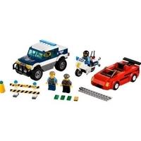 Пластмассовый конструктор LEGO City Высокоскоростное преследования (60007)
