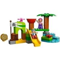 Пластмассовый конструктор LEGO Duplo Укрытие пиратов Нетландии (10513)