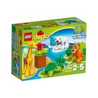Пластмассовый конструктор LEGO DUPLO Вокруг света: малыши животных (10801)