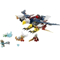 Пластмассовый конструктор LEGO Legends of Chima Огненный истребитель Орлицы Эрис (70142)