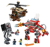 Пластмассовый конструктор LEGO Movie Подкрепление спешит на помощь 70813