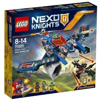 Пластмассовый конструктор LEGO NEXO KNIGHTS Аэро-арбалет V2 Аарона Фокса (70320)