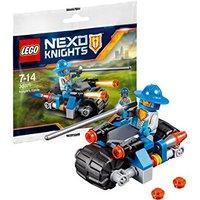 Пластмассовый конструктор LEGO NEXO KNIGHTS Мотоцикл Лицаря V29 (30371)