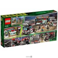 Пластмассовый конструктор LEGO Ninja Turtles Большая снеговая машина для побега (79116)