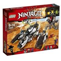 Пластмассовый конструктор LEGO Ninjago Внедорожник с суперсистемой маскировки (70595)