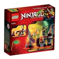 Пластмассовый конструктор LEGO NINJAGO Водопады лавы (70753)