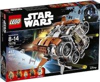 Пластмассовый конструктор LEGO Star Wars Episode Квадджампер Джакку (75178)