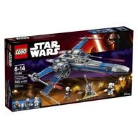 Пластмассовый конструктор LEGO Star Wars Истребитель X-Wing Сопротивления (75149)