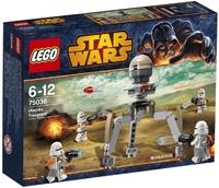 Пластмассовый конструктор LEGO Star Wars Воины Утапау (75036)