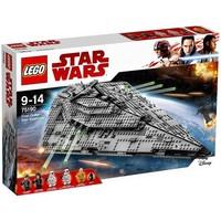 Пластмассовый конструктор LEGO Star Wars Звездный Истребитель Першого ордена (75190)