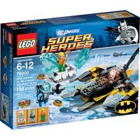 Пластмассовый конструктор LEGO Super Heroes Бэтмен против Мистера Фриза Аквамен на льду (76000)
