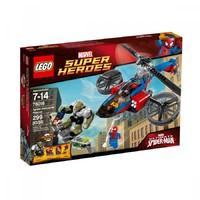 Пластмассовый конструктор LEGO Super Heroes Спасательный вертолёт Человека-паука (76016)