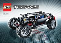 Пластмассовый конструктор LEGO TECHNIC Экстремальный внедорожник (8081)