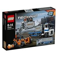 Пластмассовый конструктор LEGO Technic Контейнерный терминал (42062)