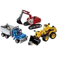 Пластмассовый конструктор LEGO Technic Строительная команда (42023)