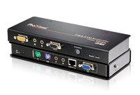 PS/2, VGA, аудио, КВМ-удлинитель по кабелю Cat 5 (1600x1200@150м) ATEN CE350