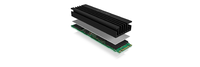 Радиатор RaidSonic Icy Box IB-M2HS-70 Heat sink for M.2 SSD