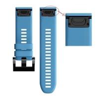 Ремешок на запястье для Garmin Garmin Fenix 5, MARQ, Quatix 5 и Forerunner 935/945 Bands Blue Silicone