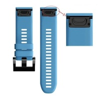 Ремешок на запястье для Garmin Garmin Fenix 5/6, MARQ, Quatix 5 и Forerunner 935/945 Bands Blue Silicone
