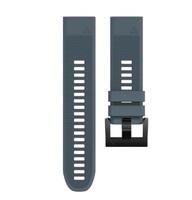 Ремешок на запястье для Garmin Fenix 5/6, MARQ, Quatix 5 и Forerunner 935/945 Bands Granite Blue Silicone